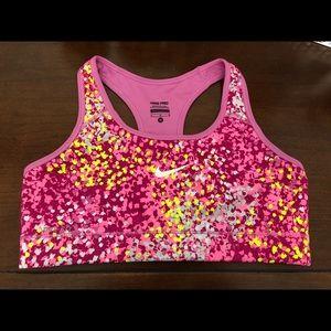 Multicolor Nike Sports Bra
